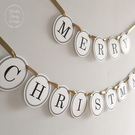 MERRY CHRISTMAS * Garland