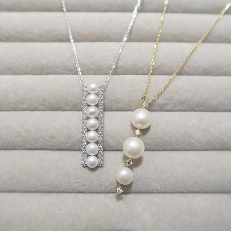 Trois Pendant Necklace