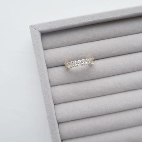 Eternity Ring / Oval Brilliant-Cut YG
