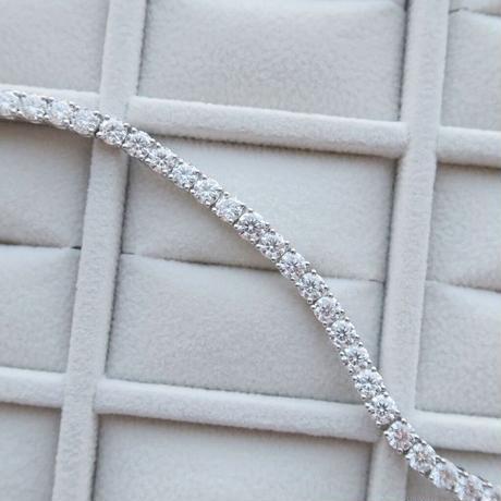 Moissanite Tennis Bracelet