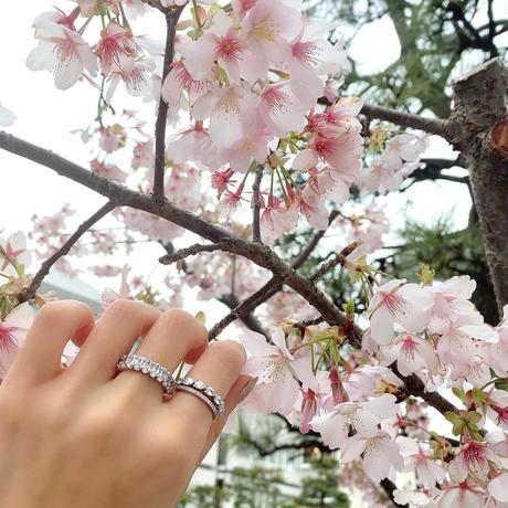 Eternity Ring / Oval Brilliant-Cut