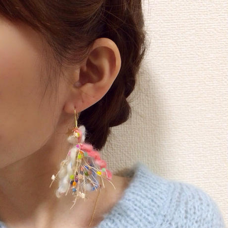 Love tassel series * Cotton suger(コットン シュガー)