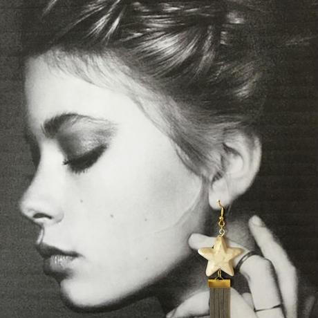 Star fringe gray(スターフリンジ グレー)