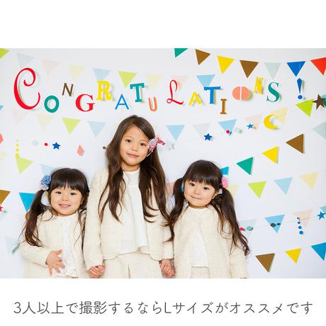 ◆おうち写真館 garland Lサイズ(縦1030 × 横1456mm) [bdi]