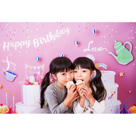 ★おうち写真館+S  sweets land   BERRY PINK *名入れ無し [bdi]