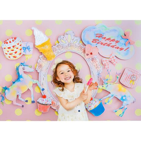 ★おうち写真館 CC magical mirage PINK 保坂さほコラボデザイン [bdi]