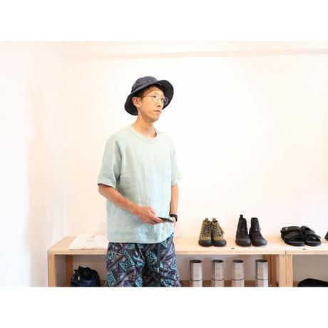 maillot マイヨ 【ユニセックス】 / リネンポケットシャツT 【2色 / ②のみ】