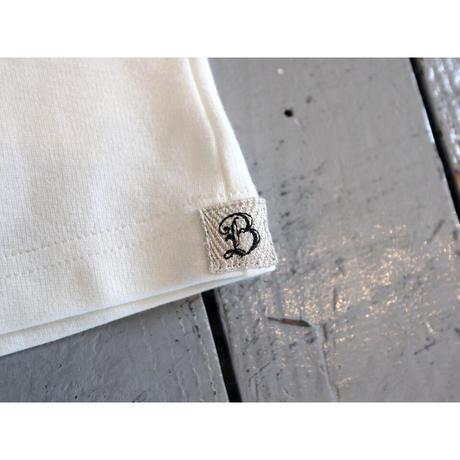 Brocante ブロカント (レディース) / クロー ロングTシャツ【ブラック , ホワイト / レディースフリー】