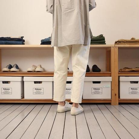 HAU ハウ(レディース) / work pants ワークパンツ 【アイボリー、カーキ / 2サイズ】