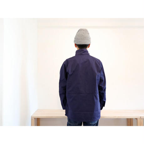 NECESSARY OR UNNECESSARY (NOUN) / HALF SWING Ⅱ 【Lのみ / ネイビー&ベージュ】