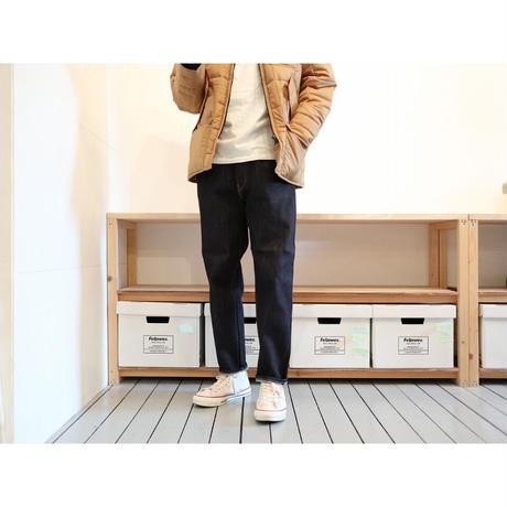 HATSKI(ユニセックス) /  【旧モデル】LOOSE TAPERED DENIM ルーズテーパード 【ワンウォッシュ】