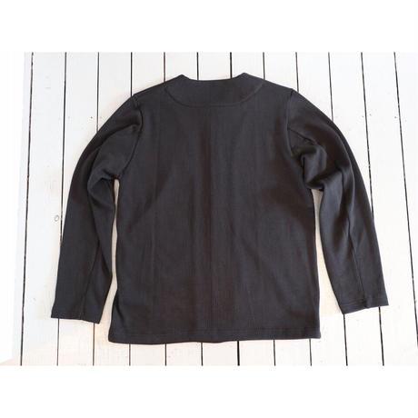 JACKMAN / SWEAT COLLARLES JKT スウェットカラーレスジャケット【ブラック / サイズS , M , L】