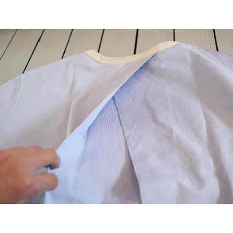 maillot (レディース)  / コードバックタック半袖T 【ブルー / サイズ 0のみ】