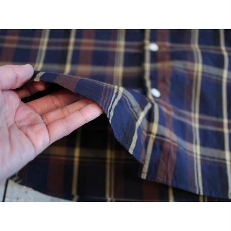 NECESSARY OR UNNECESSARY (NOUN / レディース) / MINI COLLAR CHECK ミニカラーチェックシャツ【1色 / Mのみ】