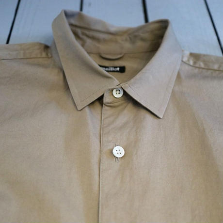 maillot / MATURE REGULSR A Line Shirt  【ベージュ / レギュラー】