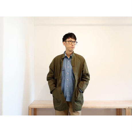 NECESSARY OR UNNECESSARY (NOUN) / W/W SHIRTS ' CHAMBRAY'【インディゴ / Mのみ】