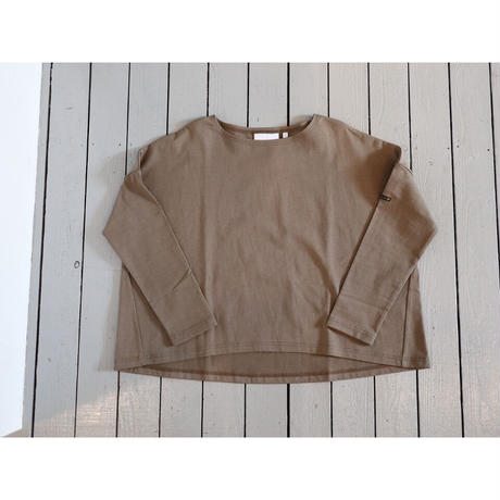 KHA;KI (レディース) / WIDE SQUARE BASQUE SHIRTSワイドスクエアバスクシャツ