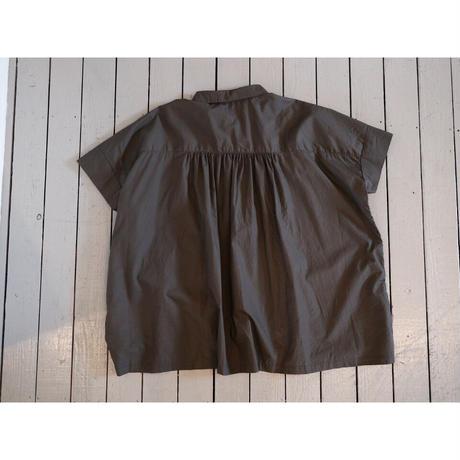 ordinaryfits オーディナリーフィッツ (レディース) / WIDE BAR BER SHIRTS ワイドバーバーシャツ【無地 2色】