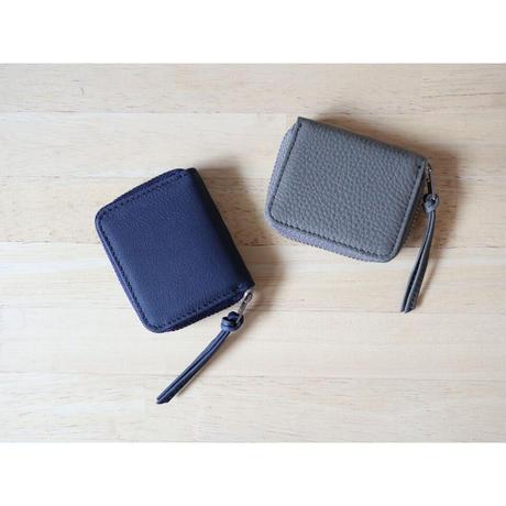 ERA. イーラ  / BUBBLE CALF ROUND VERY MINI WALLET ベリーミニ折り畳み財布  【ネイビー、グレー】