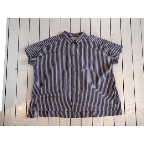 ordinaryfits オーディナリーフィッツ (レディース) / WIDE BAR BER SHIRTS ワイドバーバーシャツ【ストライプ 2色】