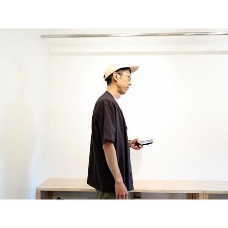 JACKMAN ジャックマン(ユニセックス)  / BB SHIRTS ベースボール半袖シャツ【スミクロ / M , L】