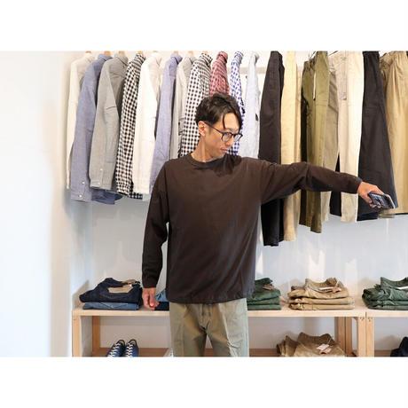 JACKMAN ジャックマン(ユニセックス)/ HIMO L/S TEE ヒモ 長袖Tシャツ【ブラック / サイズ Mのみ 】