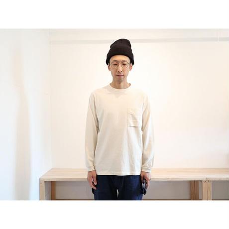 JACKMAN ジャックマン(ユニセックス)/ ポケット長袖Tシャツ【2色展開 / M のみ 】