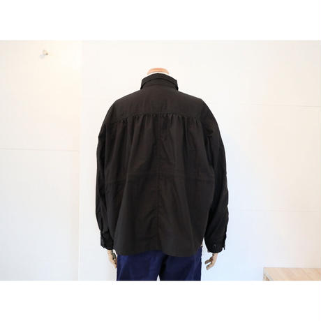 KHA;KI (レディース) / WIDE F2 FIELD JACKET ワイドF2フィールドジャケット 【ブラック】
