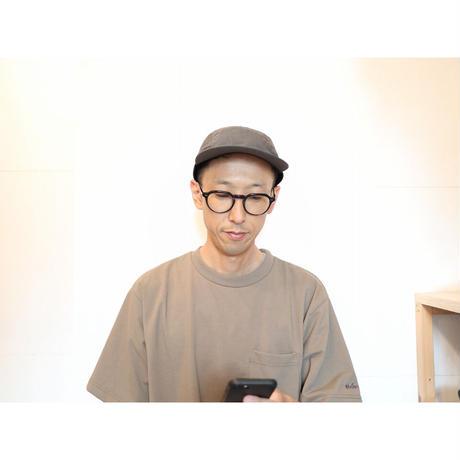 COMESANDGOES カムズアンドゴーズ / タイプライタージェットキャップ【2色】
