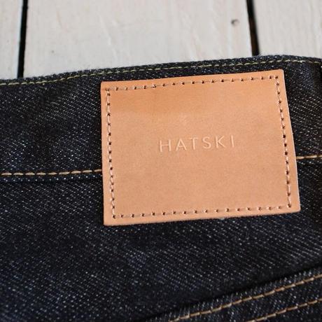 HATSKI(ユニセックス) /  【リニューアル!】NEW REGULAR TAPERED DENIM 新レギュラーテーパード 【ワンウォッシュ】