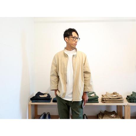 JACKMAN / ミッドネックウィンドトレーナー 【ベージュ / サイズ M , L】