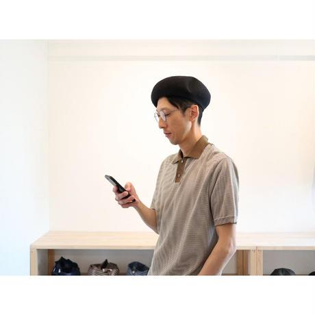 p cnq  パークニック(ユニセックス) / KIE コットンリネンベレー帽【2色展開】
