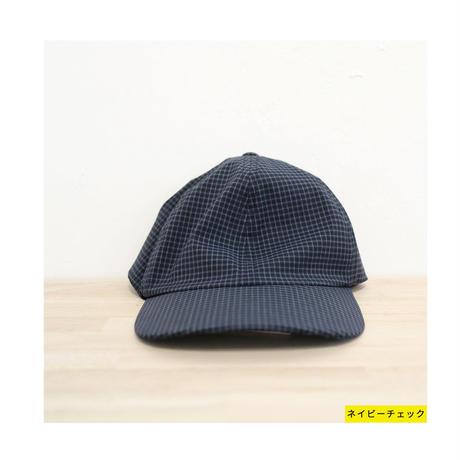 COMESANDGOES カムズアンドゴーズ /CHECK CAP チェックキャップ