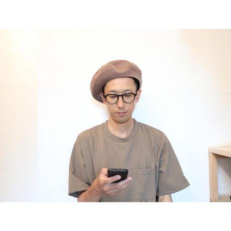 COMESANDGOES カムズアンドゴーズ / コットン&カシミヤメッシュベレー【2色】
