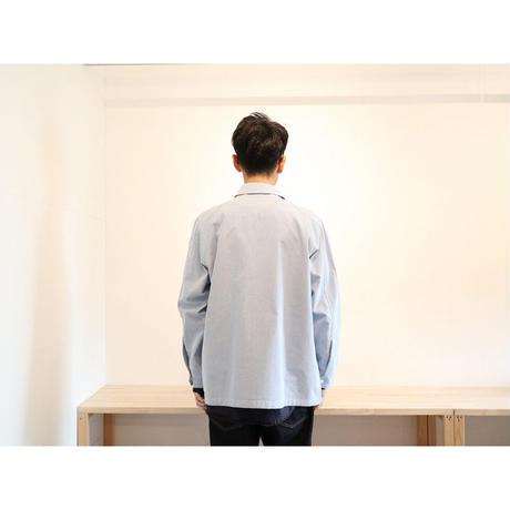 maillot マイヨ 【ユニセックス】 / Cordura OX Snap Work Jacket コーデュラオックススナップワークジャケット【ブルー / サイズ 0 , 2】