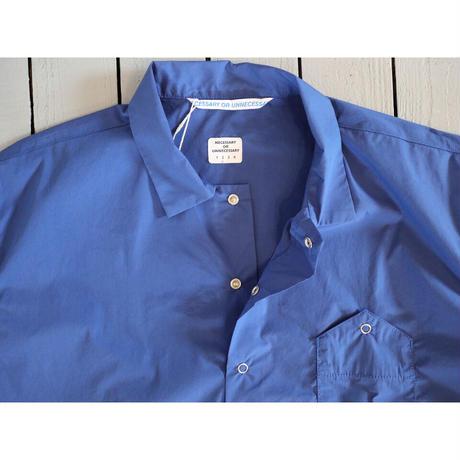 NECESSARY OR UNNECESSARY (NOUN) ナウン  / GARAGE プルオーバ半袖シャツ【2色・サイズ2のみ】