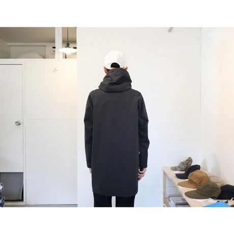 JACKMAN ジャックマン【ユニセックス) / JERSEY COAT ジャージーコート 【ジェットチャコール】