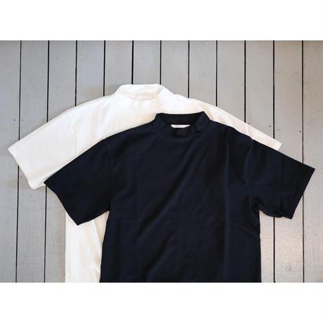 HATSKI ハツキ(ユニセックス) / MOCK NECK TEE モックネックT 【2色 / サイズ 0 , 2 】
