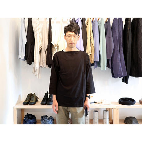 SAINT JAMES セントジェームス(ユニセックス) / モーレ 薄手7分袖 【2色展開】