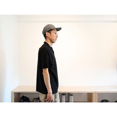 maillot  マイヨ (ユニセックス)  /  MATURE KNIT POLO マチュアニットポロ【ブラック , カーキ×アイボリー / SIZE 2のみ】