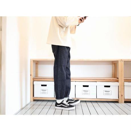 HATSKI(ユニセックス) /  LOOSE TAPERED DENIM 13.5OZ ルーズテーパード 【13.5オンス / ワンウォッシュ】