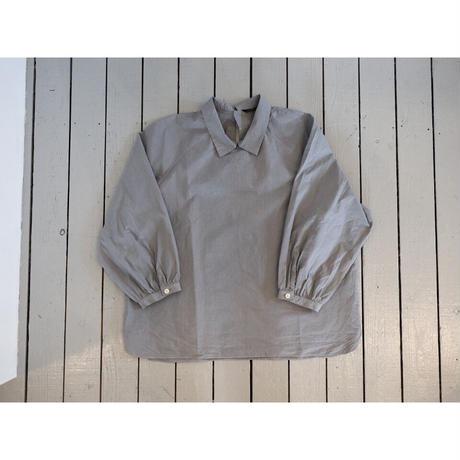 maillot マイヨ 【レディース】 / MATURE RUB COTTON POLO SMOCK SHIRTS マチュアラブコットンポロスモックシャツ