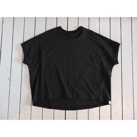 Brocante ブロカント (レディース) / ココンTシャツ半袖【ベージュ、ブラック】