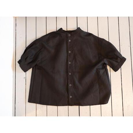 Brocante ブロカント (レディース) / アンフェルミエシャツ【ブラック / サイズ2のみ】
