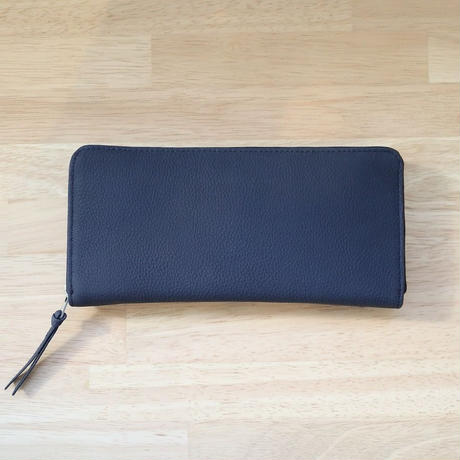ERA. イーラ  / BUBBLE CALF ROUND SLIM WALLET 長財布