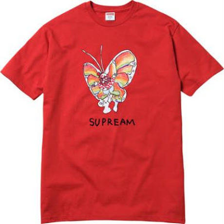 Supreme Gonz Butterfly Tee M red