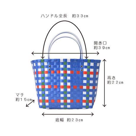 カラフルテープ編バスケットバッグ(G01-Z3519004)