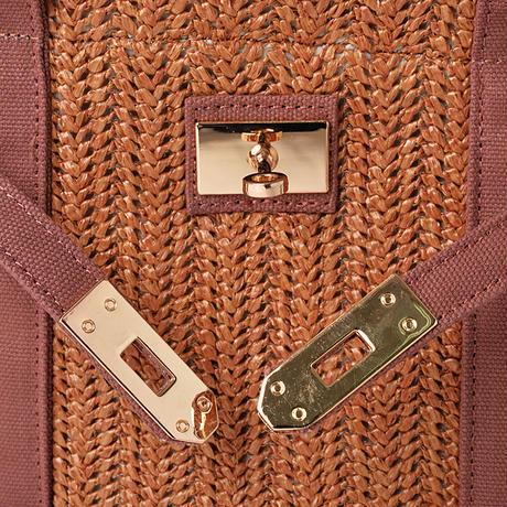 ひねり金具付きベルトキャンバス2Wayミニバッグ(G06-P3119016)