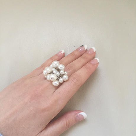 Freshwaterpearl  Ring -B