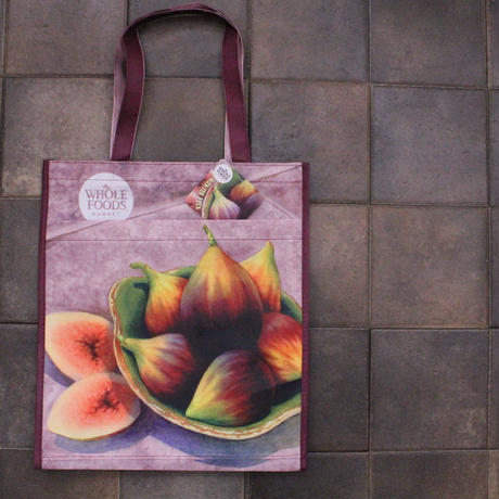 PRINTED TOTE FIG[L] / WHOLE FOODS